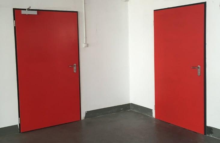 Boschar Laveix - porte métallique coupe-feu