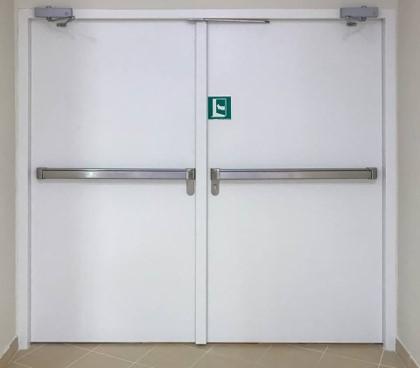 Bochat-Laveix - Portes métalliques  non coupe-feu